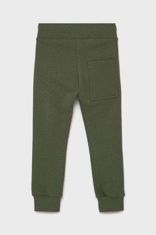 United Colors of Benetton - Spodnie dziecięce brudny zielony