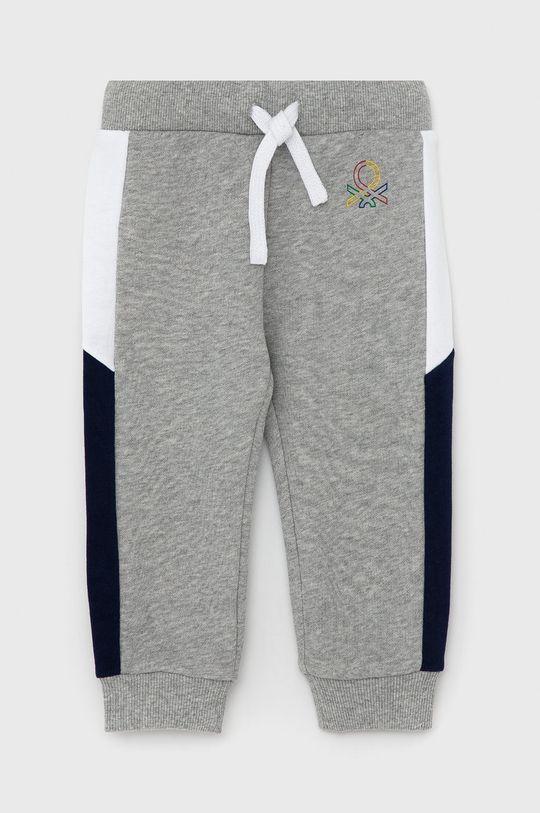 světle šedá United Colors of Benetton - Dětské kalhoty Chlapecký