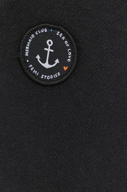 czarny Femi Stories - Spodnie Haruka