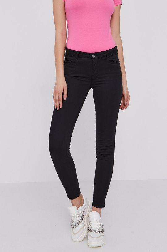 czarny Guess - Spodnie W1GAJ2.W77RE Damski