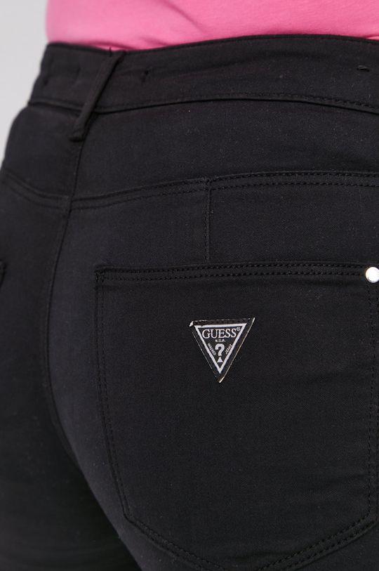 czarny Guess - Spodnie W1GAJ2.W77RE