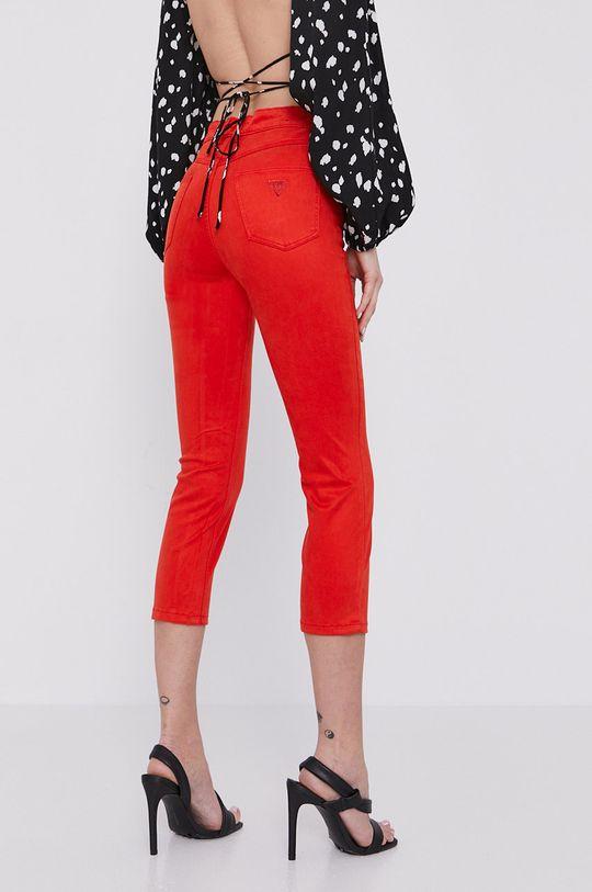 Guess - Pantaloni  36% Bumbac, 3% Elastan, 9% Elastomultiester, 52% Lyocell