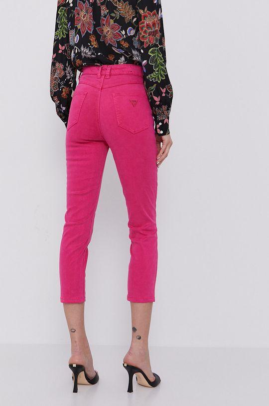 Guess - Spodnie 36 % Bawełna, 3 % Elastan, 9 % Elastomultiester, 52 % Lyocell