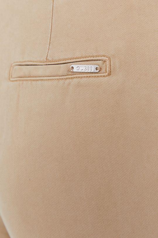 béžová Guess - Kalhoty