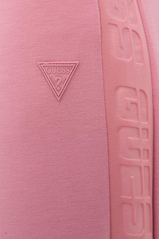 różowy Guess - Spodnie