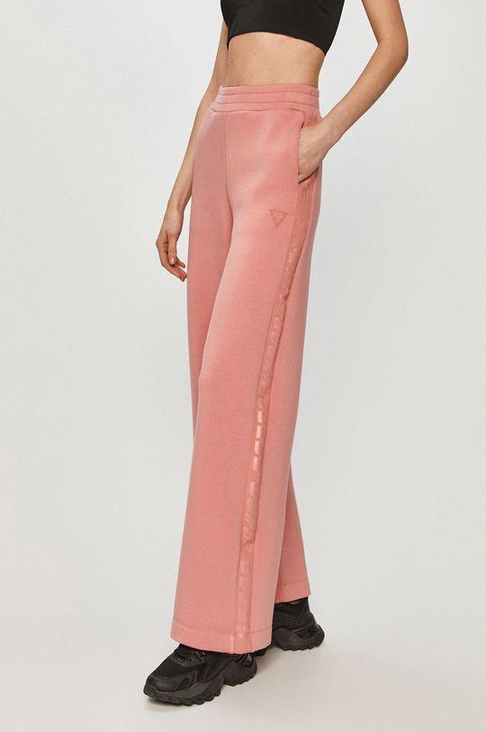 fiołkowo różowy Guess - Spodnie