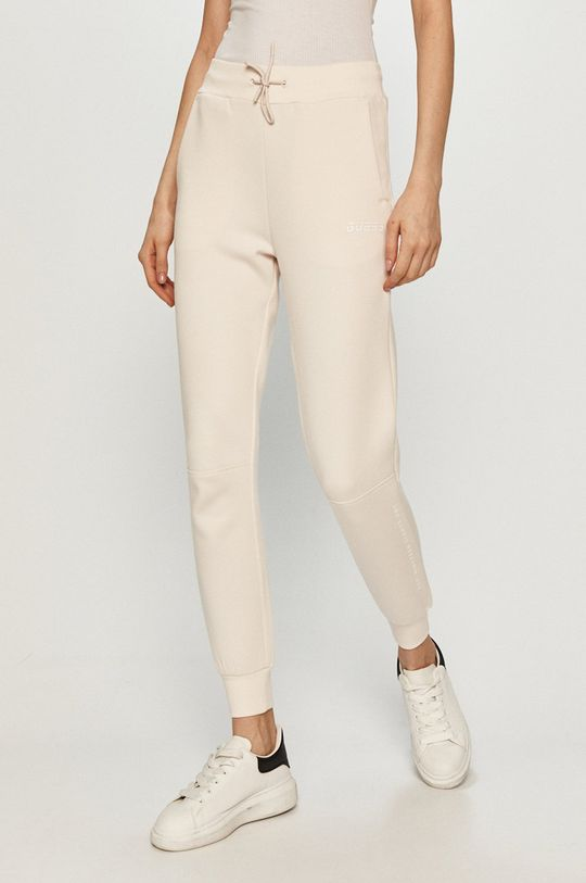 biały Guess - Spodnie Damski