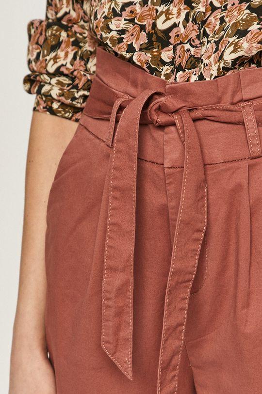 fiołkowo różowy Only - Spodnie
