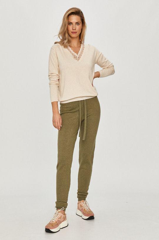 Guess - Kalhoty olivová