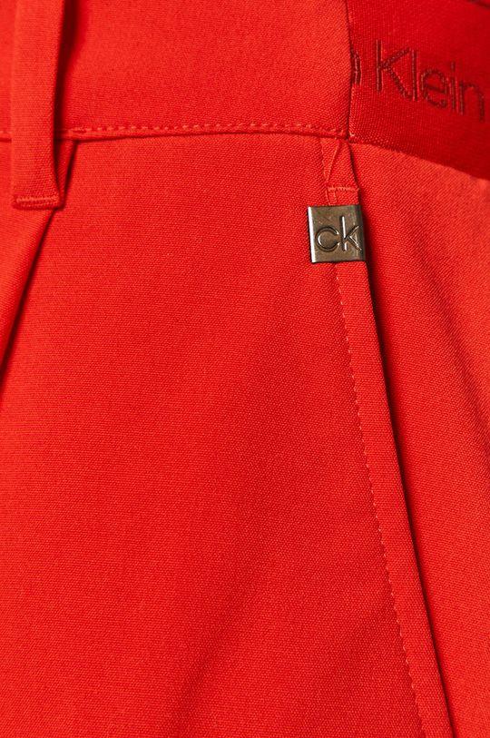 czerwony Calvin Klein - Spodnie