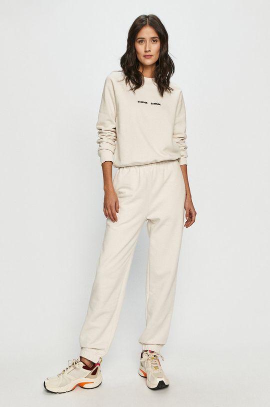 Samsoe Samsoe - Spodnie biały