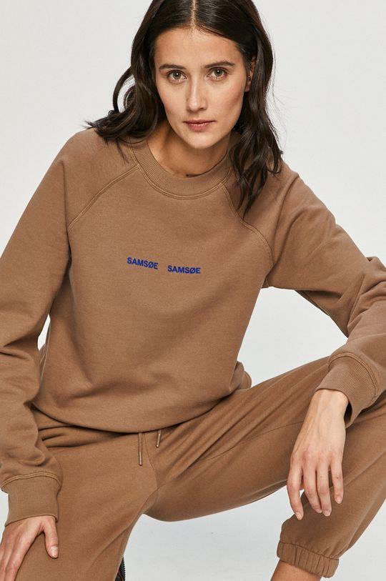 Samsoe Samsoe - Spodnie brązowy