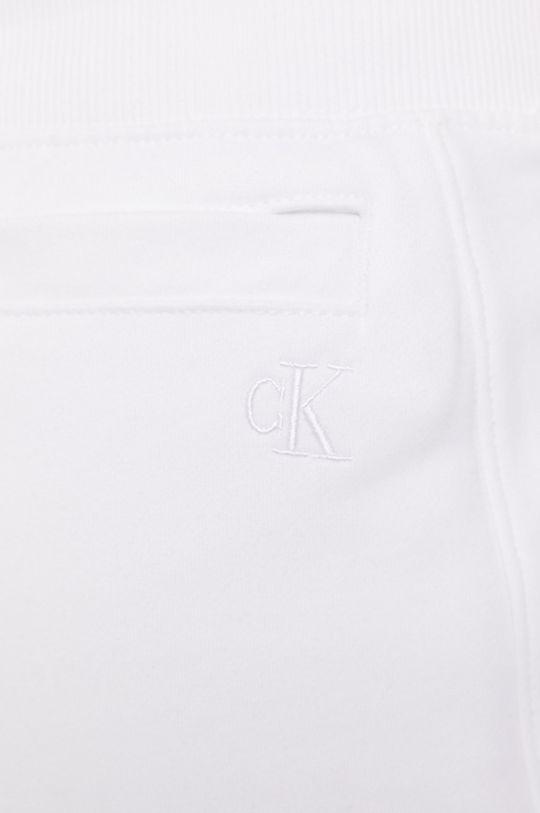 biały Calvin Klein Jeans - Spodnie