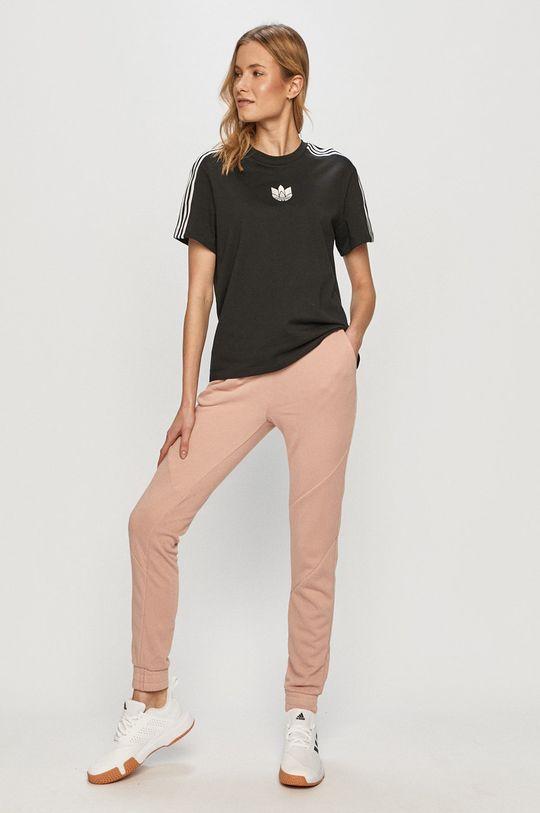 Noisy May - Pantaloni roz murdar