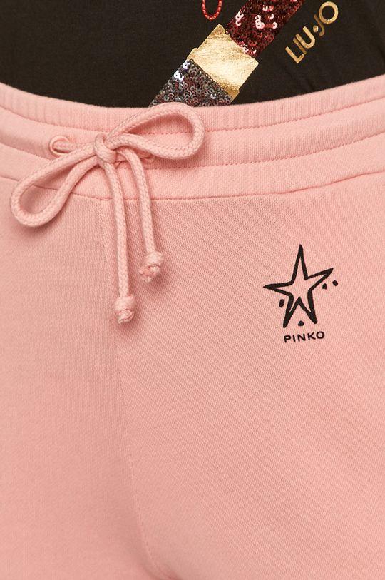 różowy Pinko - Spodnie