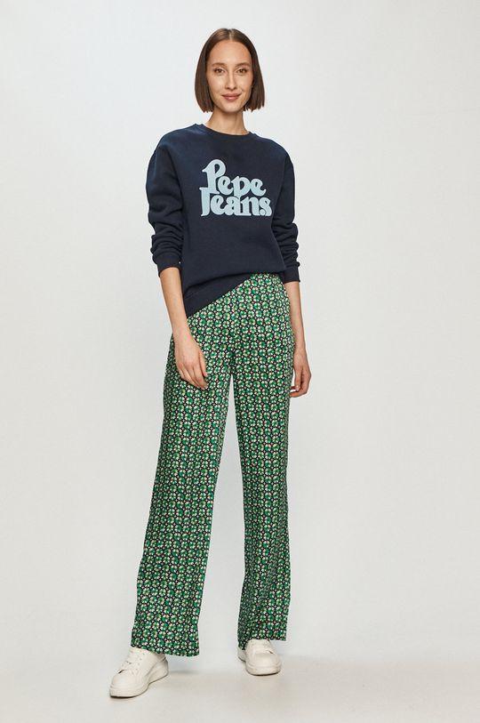 Pepe Jeans - Nohavice Paula zelená