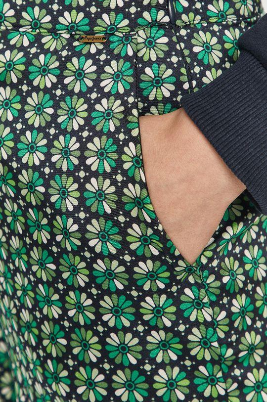 zelená Pepe Jeans - Nohavice Paula