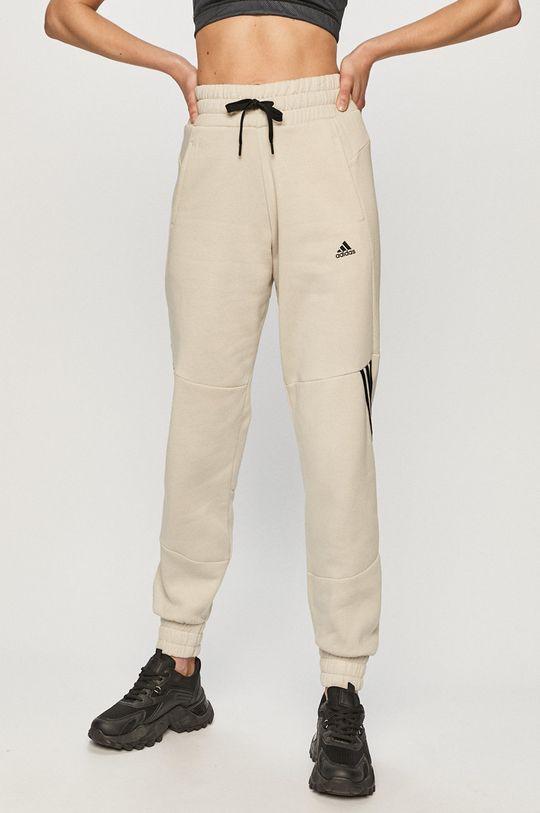 jasny szary adidas Performance - Spodnie Damski