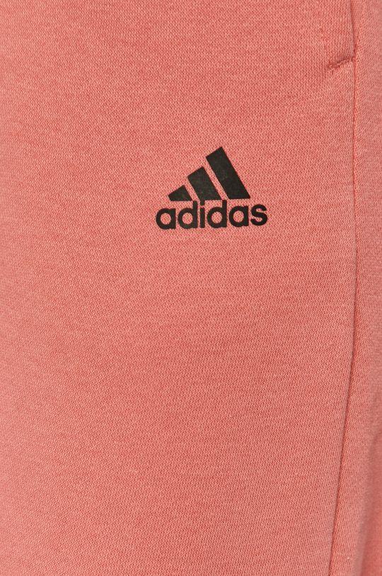 ružová adidas Performance - Nohavice