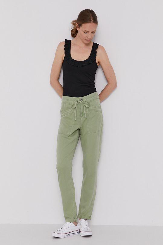 Pepe Jeans - Spodnie Dash brudny zielony