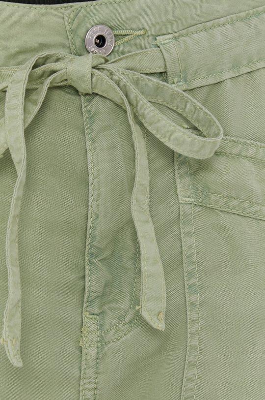 brudny zielony Pepe Jeans - Spodnie Dash
