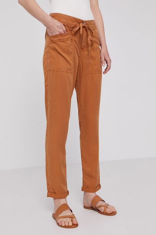 złoty brąz Pepe Jeans - Spodnie Dash Damski