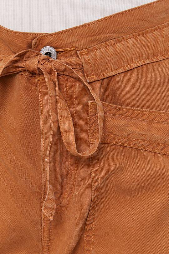 złoty brąz Pepe Jeans - Spodnie Dash