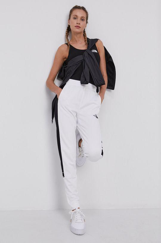 biały The North Face - Spodnie