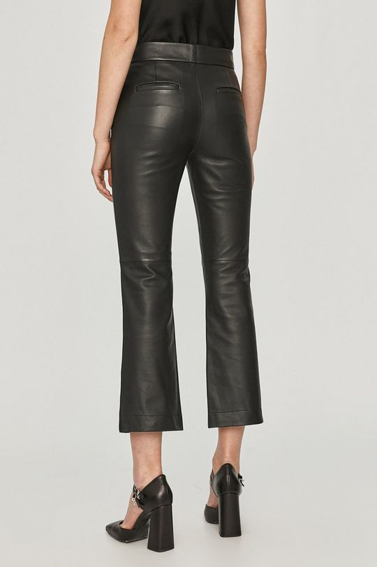 Red Valentino - Spodnie skórzane 100 % Skóra naturalna