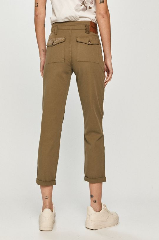 Desigual - Spodnie 98 % Bawełna, 2 % Elastan