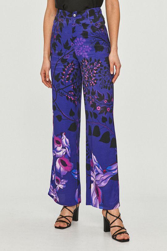 albastru Desigual - Pantaloni De femei