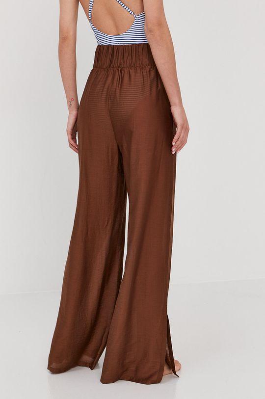Max Mara Leisure - Spodnie plażowe brązowy