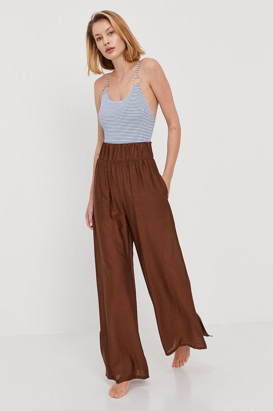 Max Mara Leisure - Spodnie plażowe 12 % Jedwab, 67 % Modal, 21 % Poliamid
