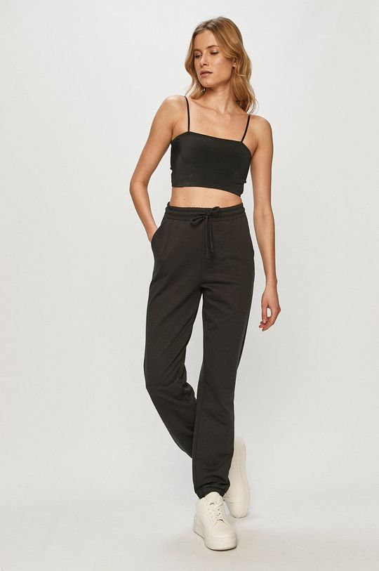 Vero Moda - Nohavice čierna