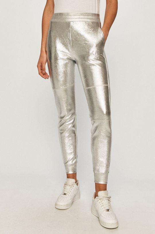 srebrny Karl Lagerfeld - Spodnie Damski