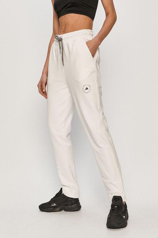 biały adidas by Stella McCartney - Spodnie Damski