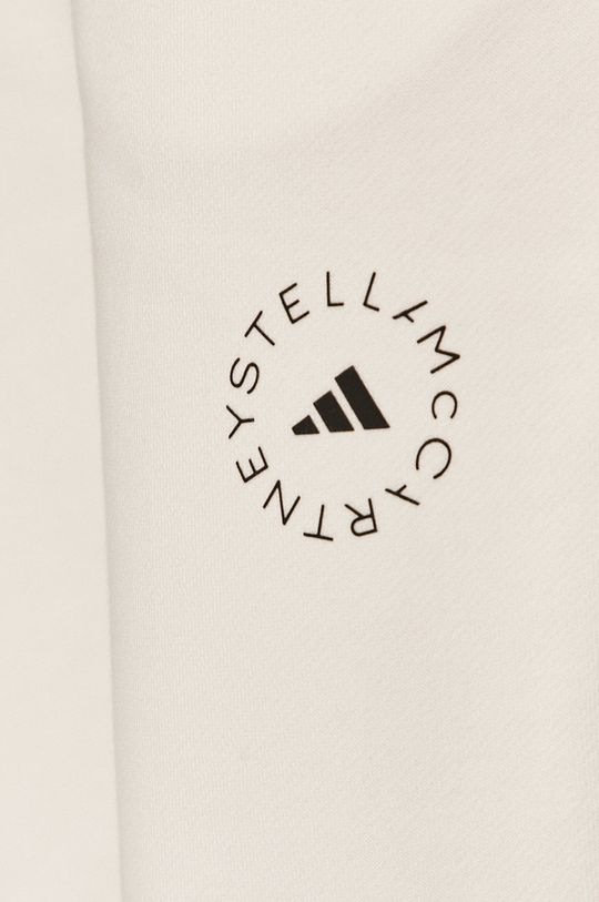 biały adidas by Stella McCartney - Spodnie