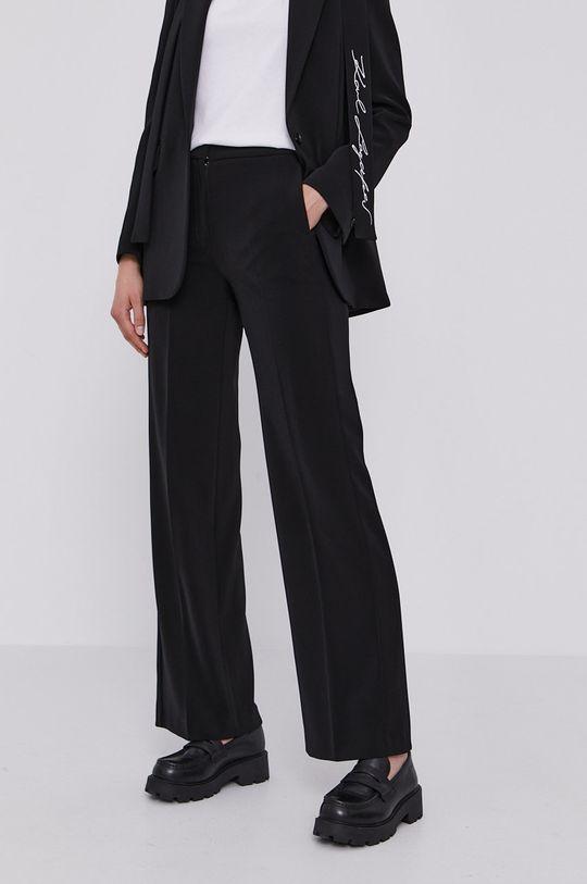 Karl Lagerfeld - Spodnie czarny