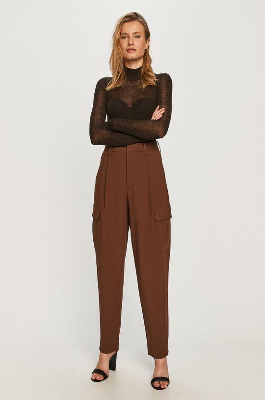 Miss Sixty - Spodnie brązowy