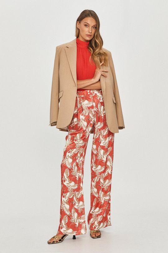 Hugo - Spodnie multicolor