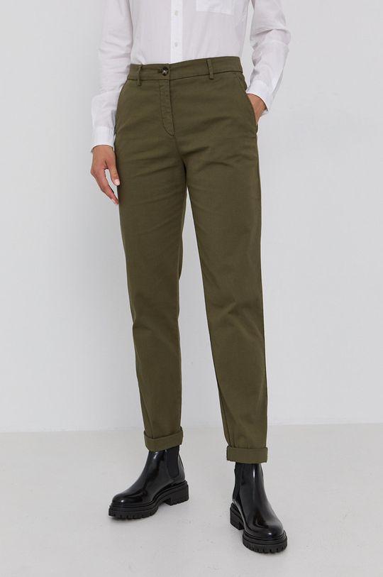 zelená Hugo - Kalhoty 50449602 Dámský