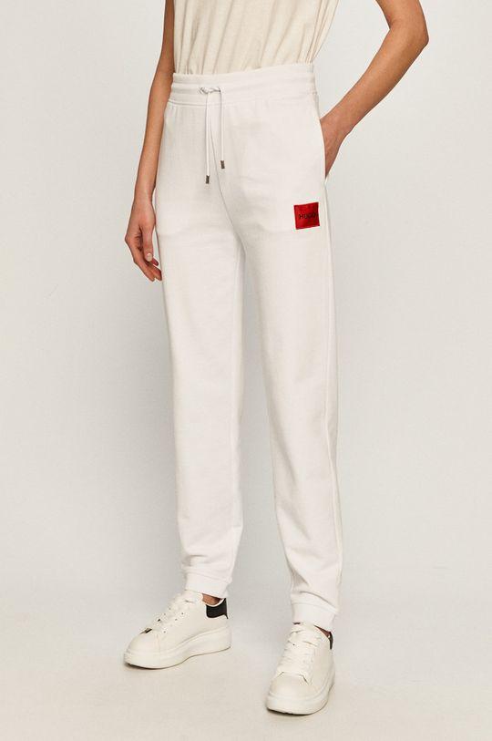 biały Hugo - Spodnie Damski