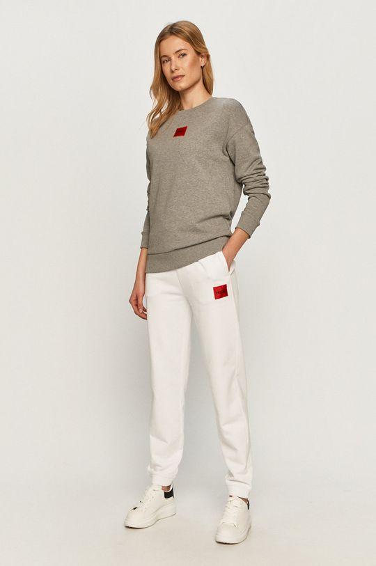Hugo - Spodnie biały