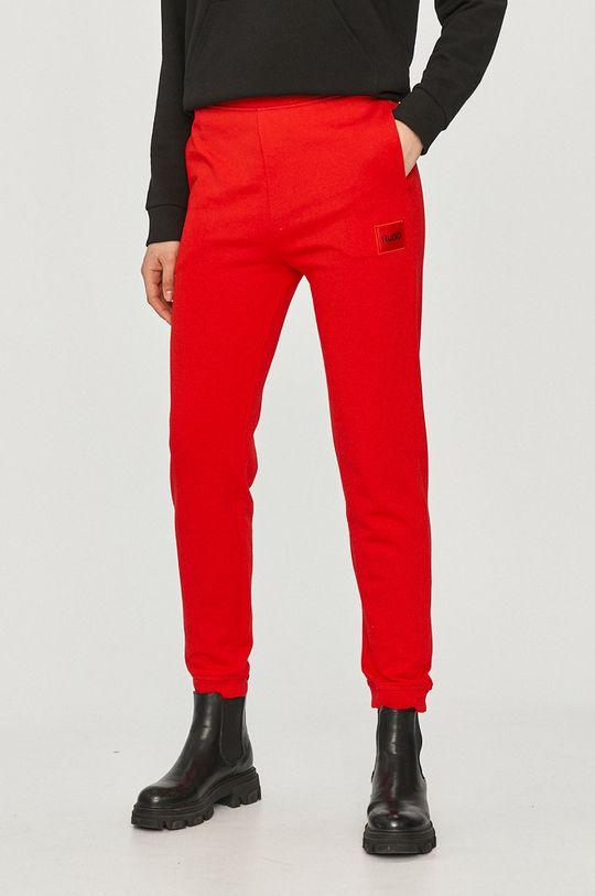 červená Hugo - Kalhoty Dámský
