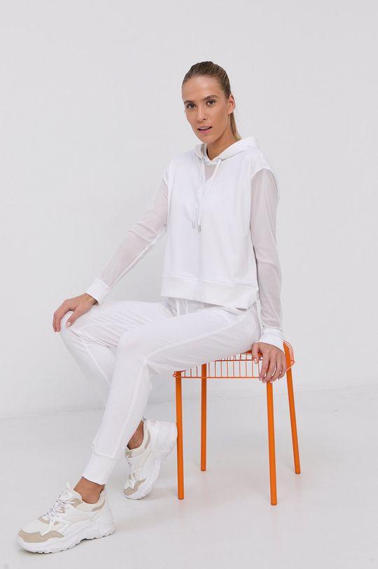biały Dkny - Spodnie Damski