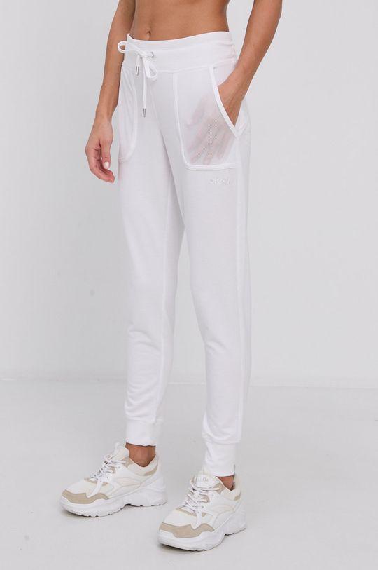 Dkny - Spodnie biały