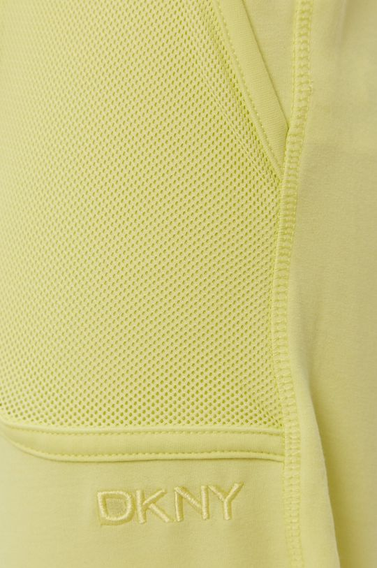 żółto - zielony Dkny - Spodnie