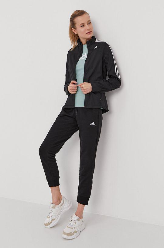czarny adidas - Spodnie Damski