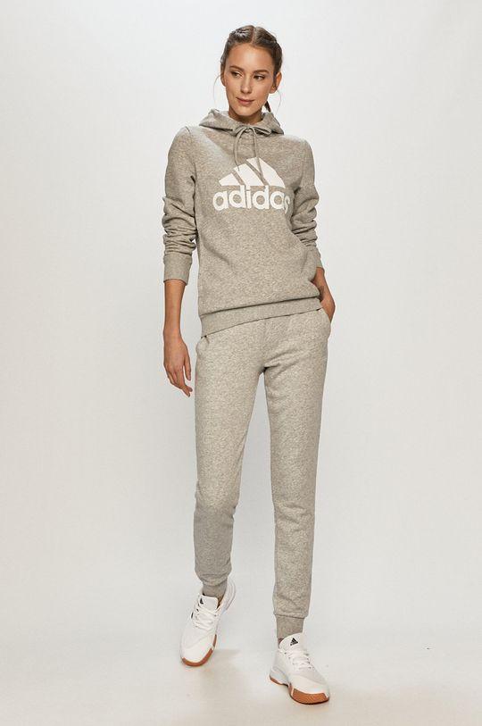 adidas - Kalhoty šedá