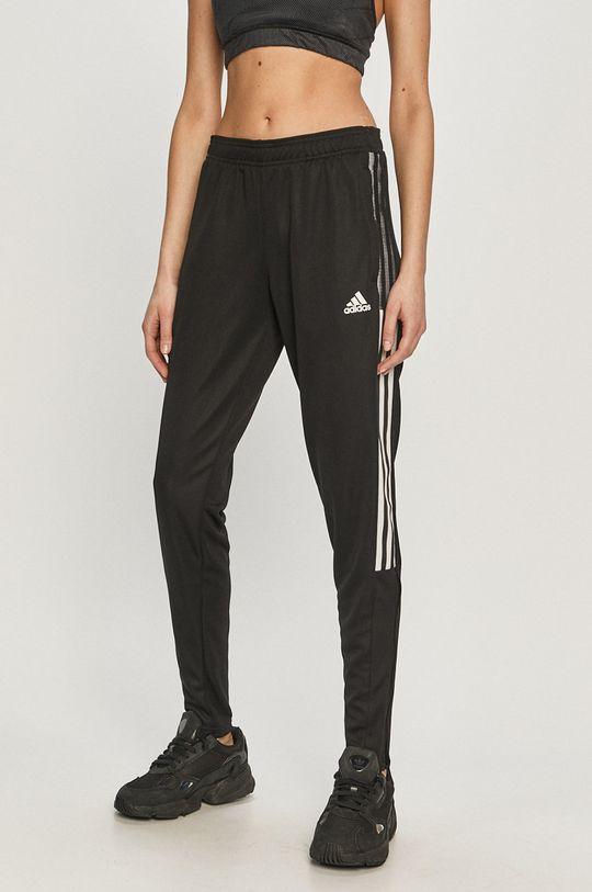 czarny adidas Performance - Spodnie Damski